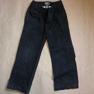 Polo Dark Blue Jeans Khaki Pants